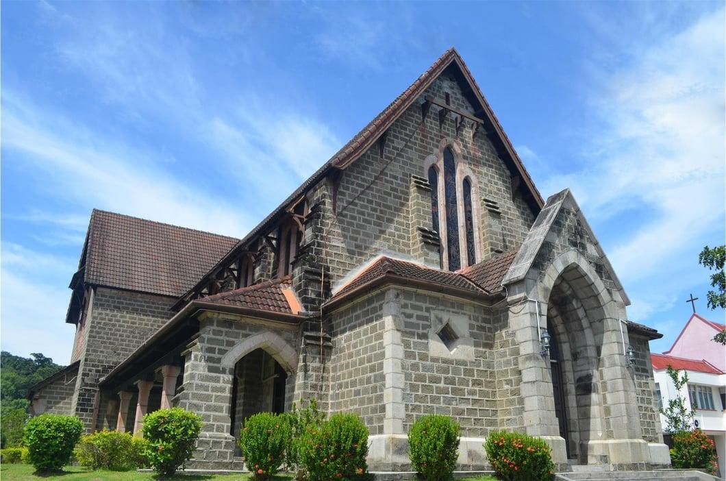 Photo: St. Michael's and All Angels Church, Sandakan