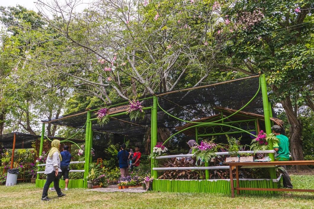 Photo: Pesta Bunga Bamboo Exhibitions, Sabah