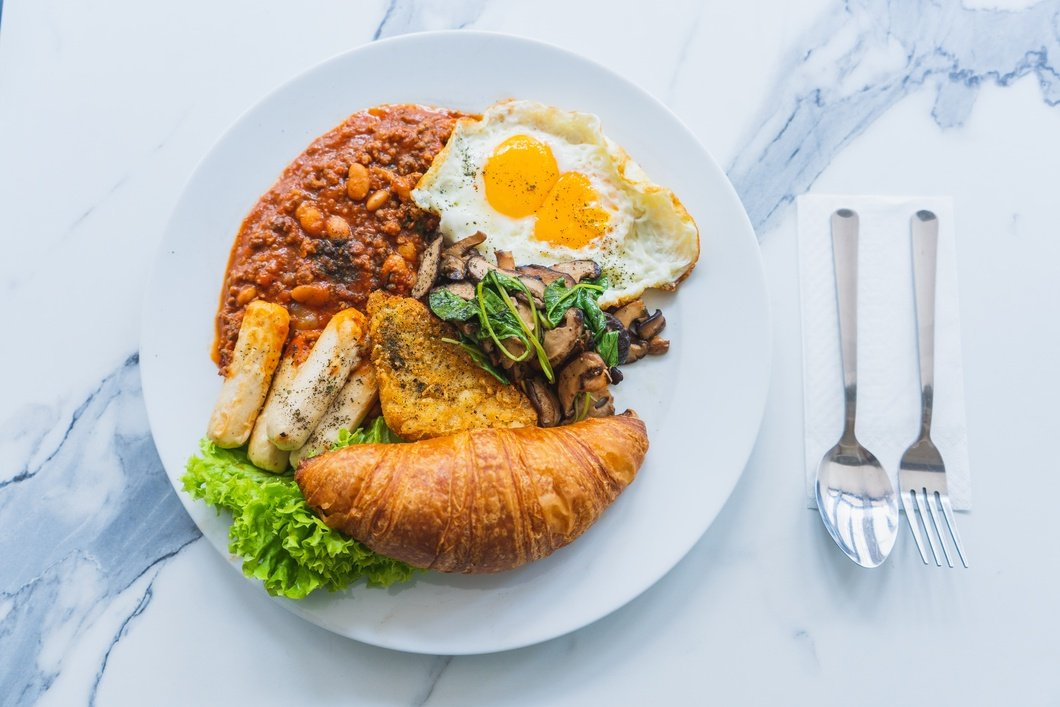 Photo: One Roof Cafe Big Breakfast