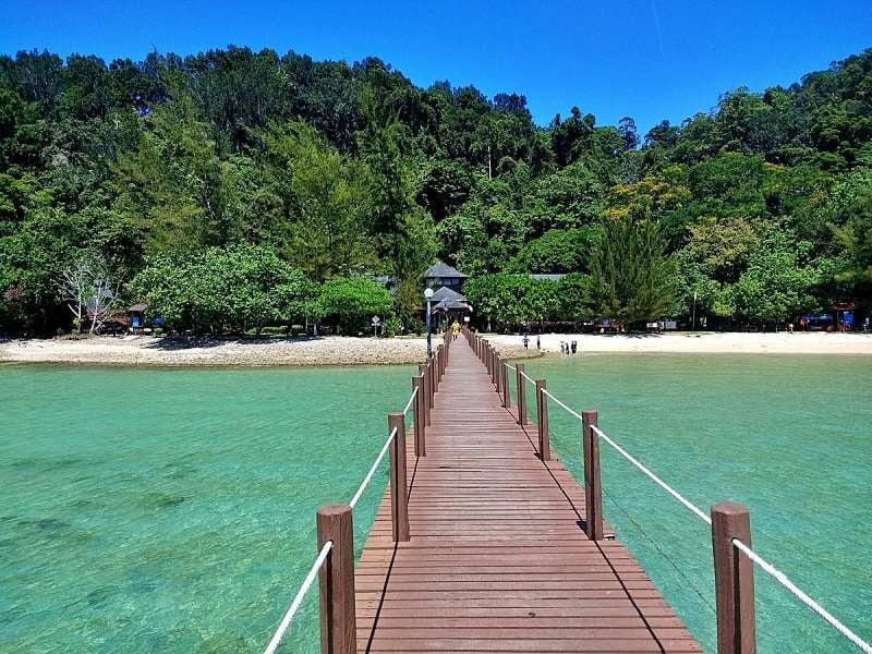 Photo: Gaya Island Jetty