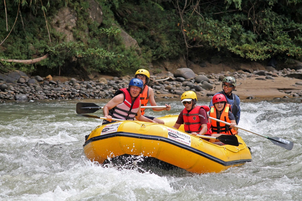 Photo: Kiulu Water Rafting Grade I - II