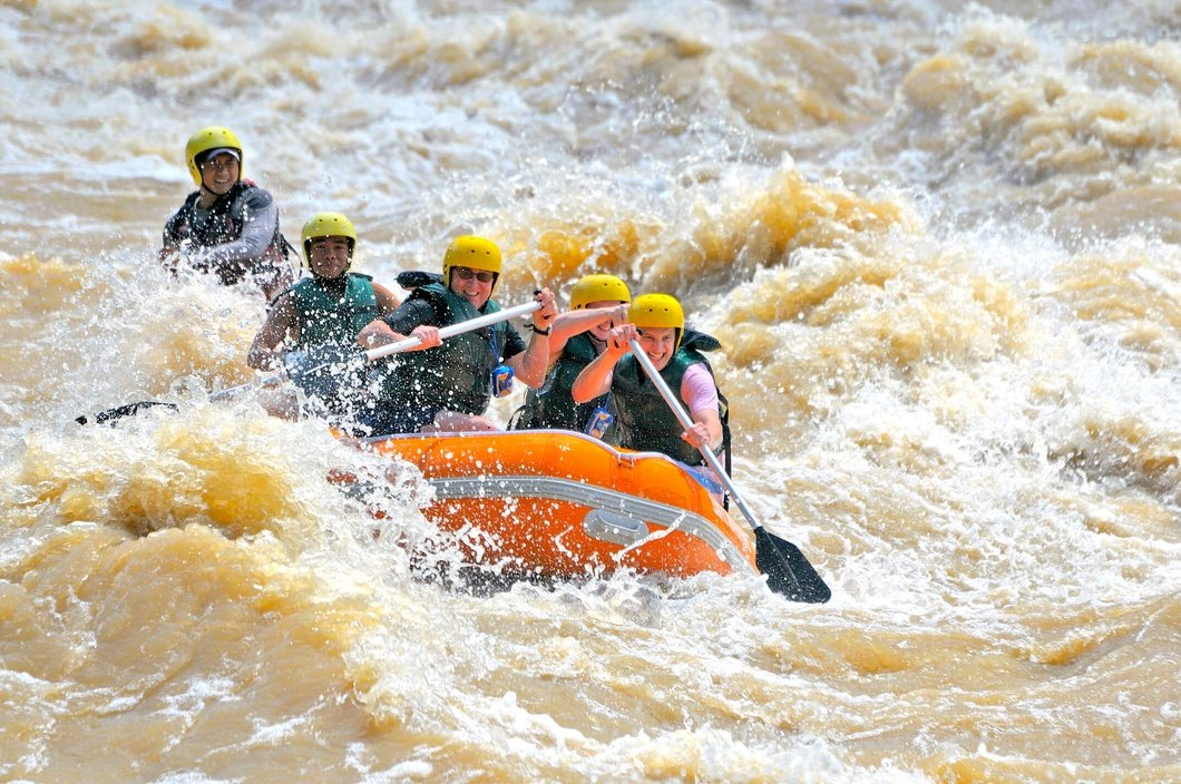 Photo: Padas River Rafting