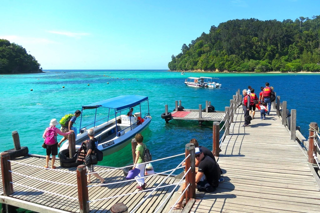 Photo: Jetty in Sapi Island