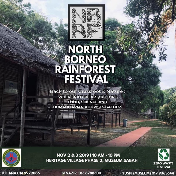 Photo: North Borneo Rainforest Festival