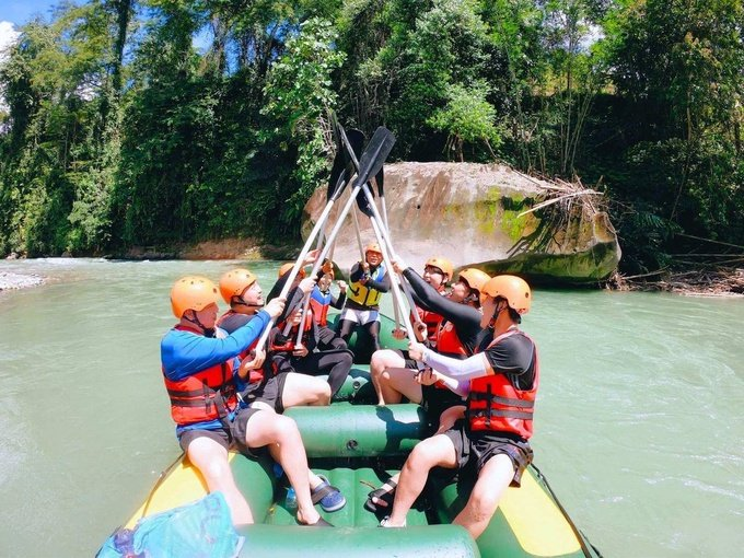 Photo: Kadamaian River Water Rafting Grade I - II