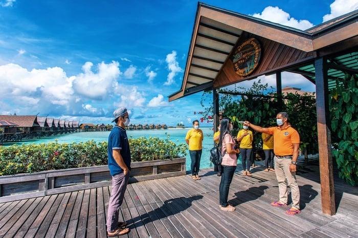Kapalai Island: Sipadan Kapalai Dive Resort